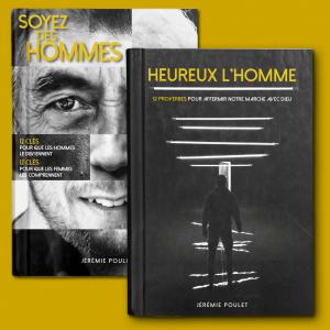 Pack 2 livres Jérémie Poulet